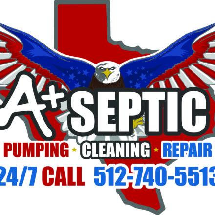 A+ Septic Logo
