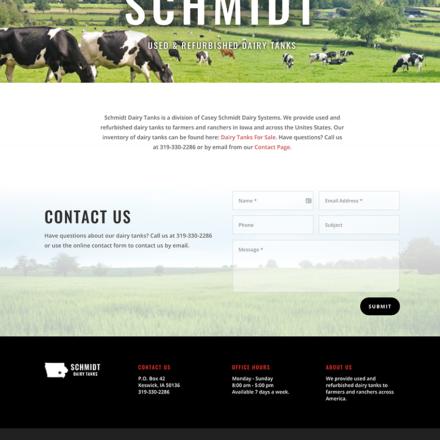 Schmidt Dairy Tanks of Iowa