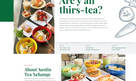 SEM Analysis, Digital Marketing and Website for Austin Tea Xchange