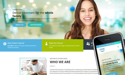 Responsive Site for Leander Smiles Dentistry