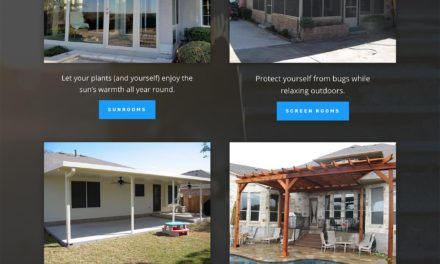 Updated Website for Nu-View Patios in Austin Texas