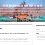 Wingman and Partner Portal for Ryan Shehan Racing