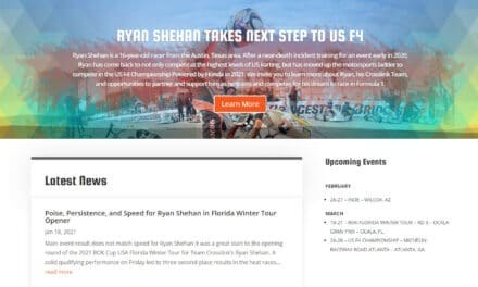 Wingman and Partner Portal for Ryan Shehan Racing