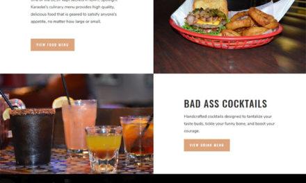 New Website for Spotlight Karaoke Bar