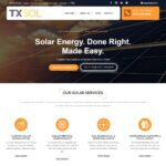SEM Analysis, PPC and Website for TXSOL Solar Contractors