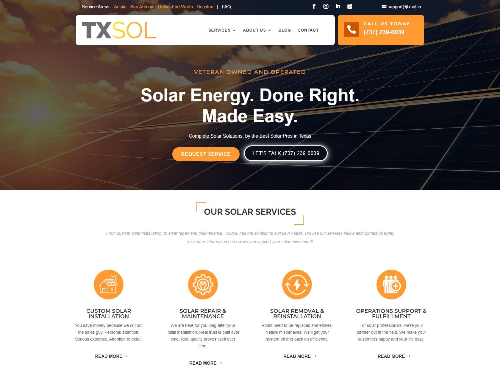 TXSOL Solar Contractors