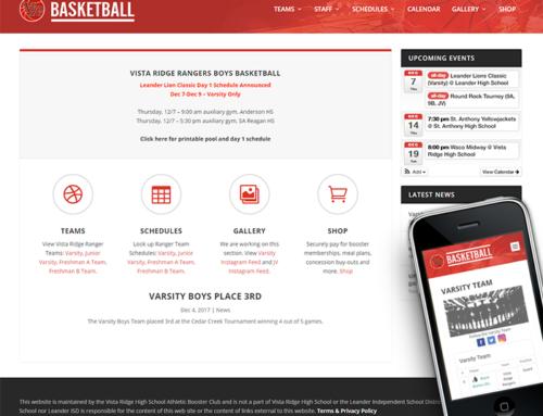 Vista Ridge Boys Basketball