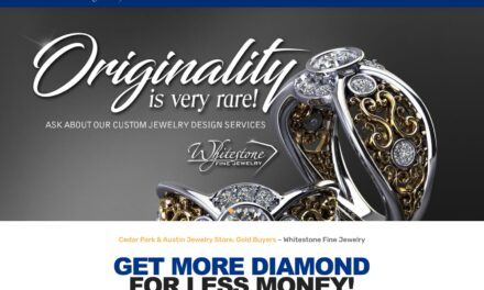 New Website for Whitestone Fine Jewelry Launched