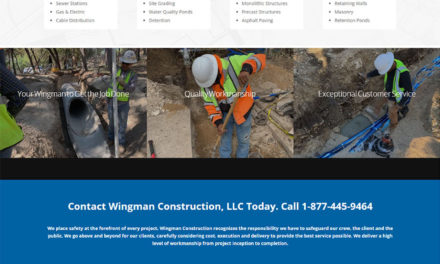 Website Design and SEO for Wingman Construction in Cedar Park